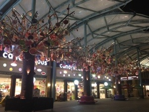Sentosa Candy Trees